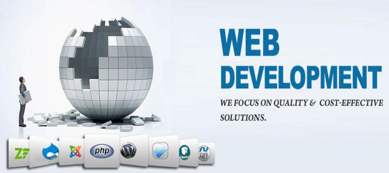 Web Development service in India by Xantel Corporation